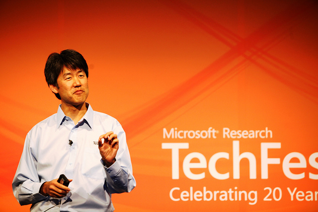 Peter Lee of Microsoft