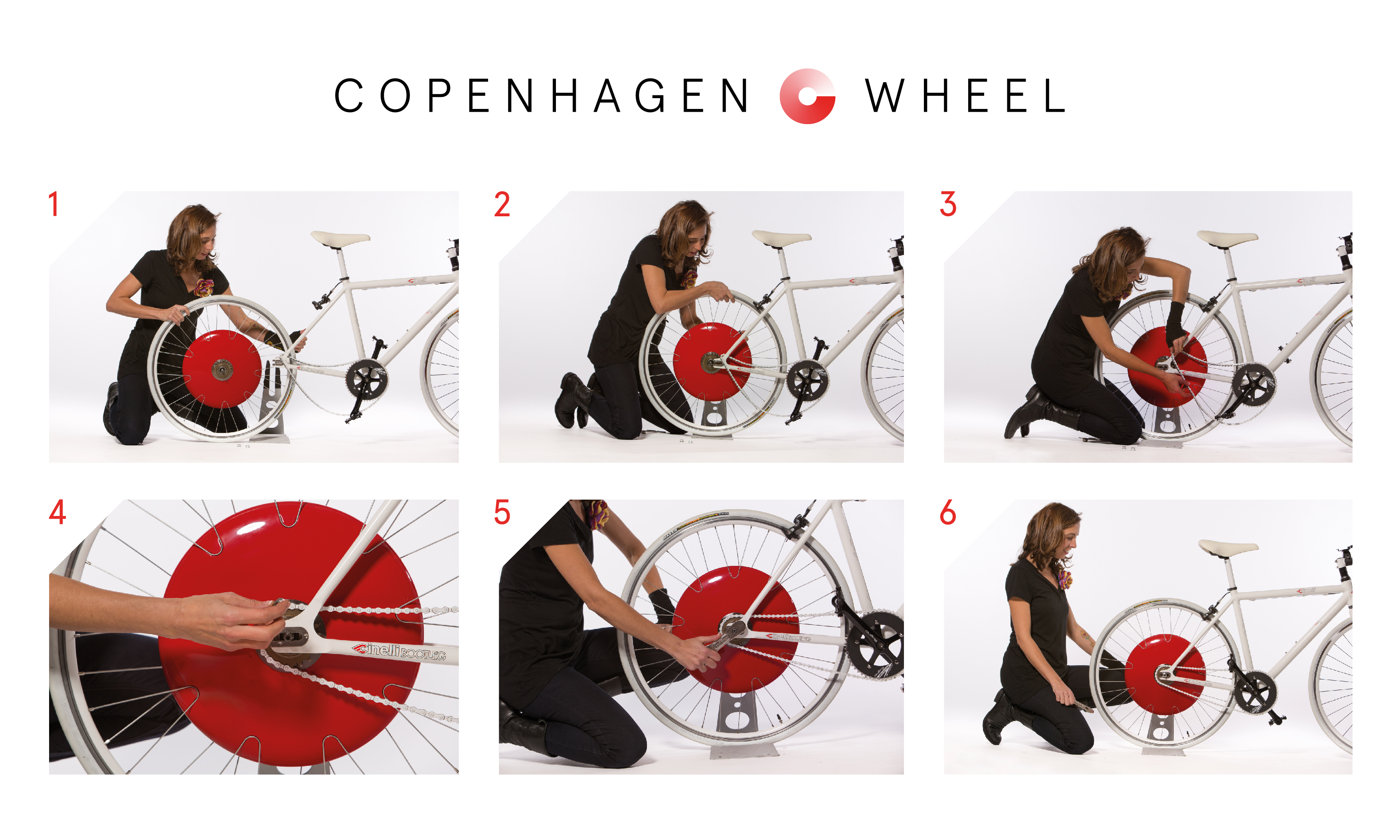 Copenhagen Wheel assembly