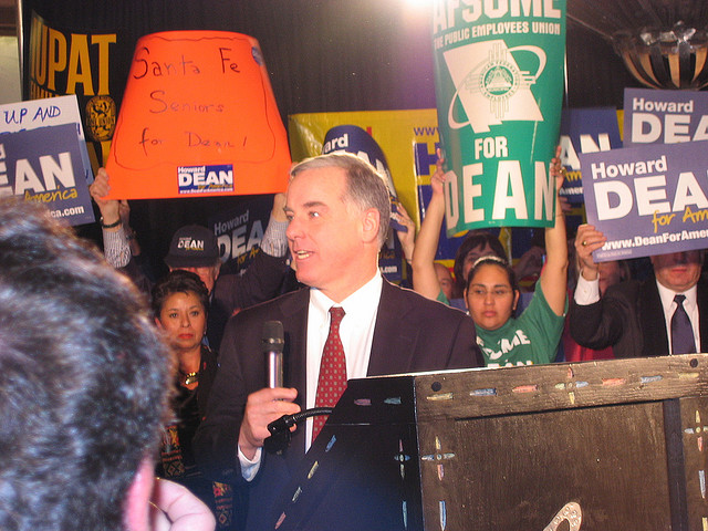 Howard Dean in 2004