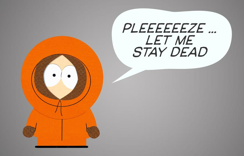Masspoliticsprofs unlike south park 39 s kenny some political stories should just die - Pics of kenny from south park ...