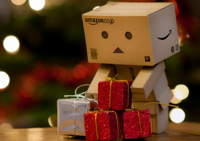 Danbo with presents