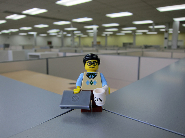 Lego businessman