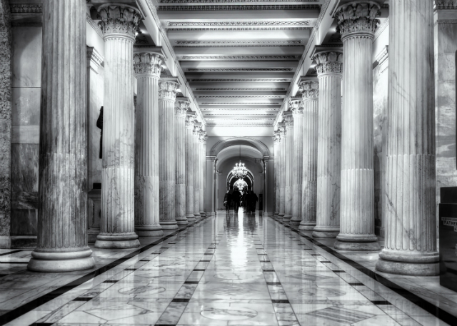 Hallway of government