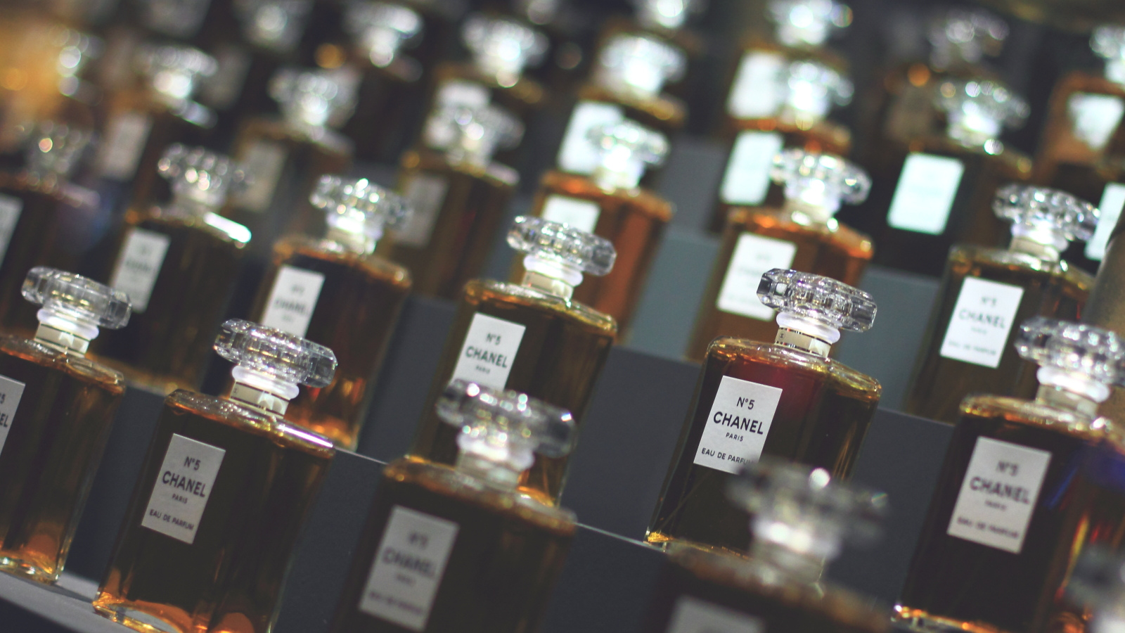 Bottles of Chanel No. 5