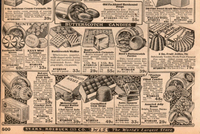 A picture of the Sears Catalog