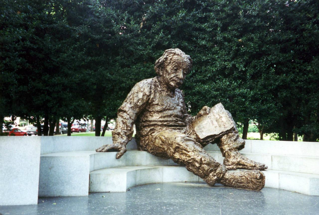 The Einstein Memorial at the National Academy of Sciences