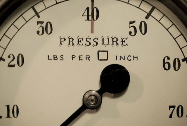 An instrument that measures pressure. Credit: William Warby / Flickr Creative Commons