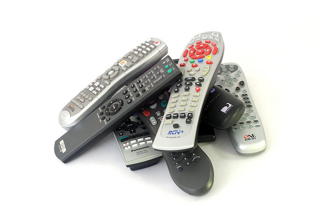 A pile of remote controls. Credit: Redjar / Flickr Creative Commons