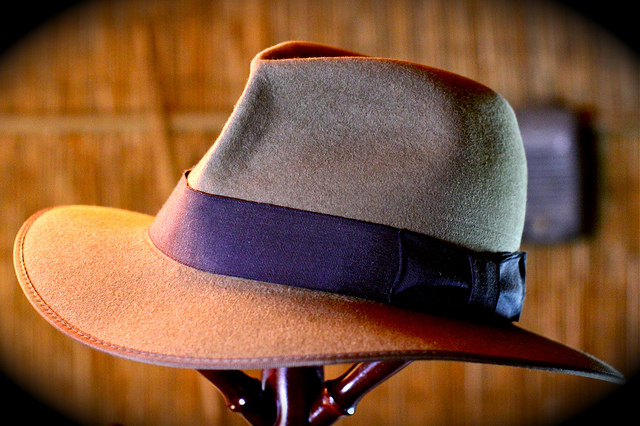 A fedora. Credit: davidd / Flickr Creative Commons