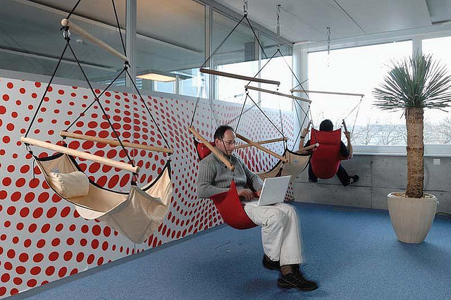 A creative office