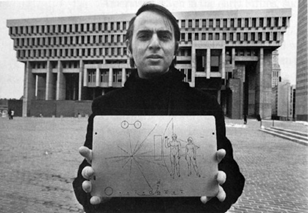 Carl Sagan was a pioneer celebrity scientist.