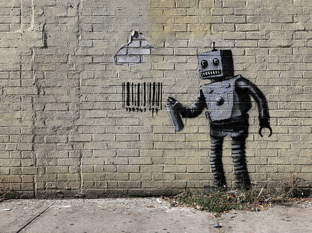 Robot graffiti