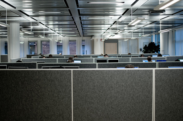 Cubicles on cubicles