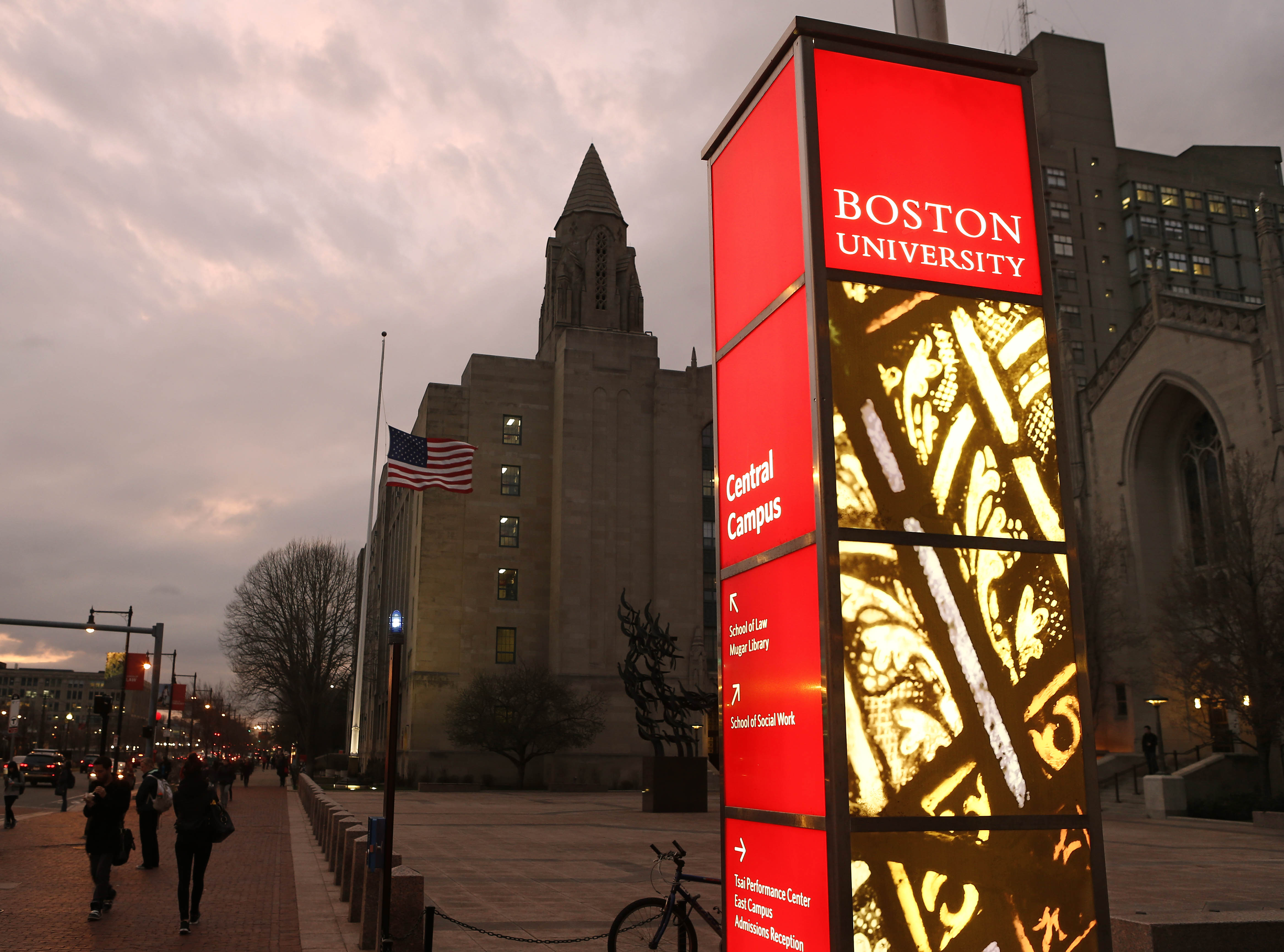 Boston University Academy students in good academic and disciplinary  standing enjoy guaranteed admission to Boston University.