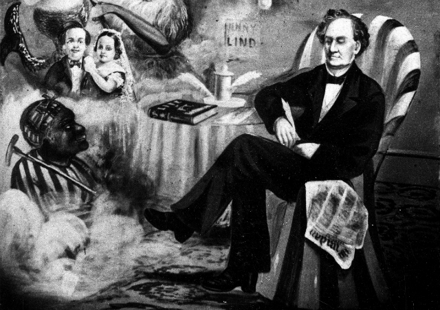 Innovation hub great minds great conversations the life of pt an undated painting of pt barnum credit ap images stopboris Image collections